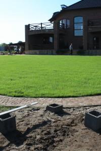 Готовый спортивный газон