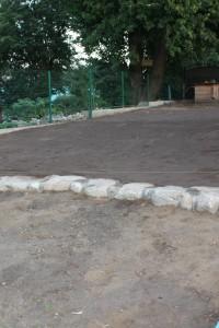 Планировка участка под посев газона